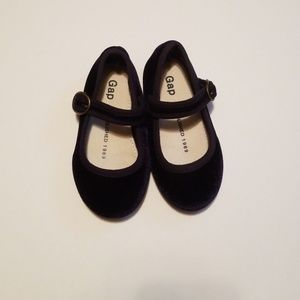 Gap Deep Blue Baby Girl Shoes Size 6